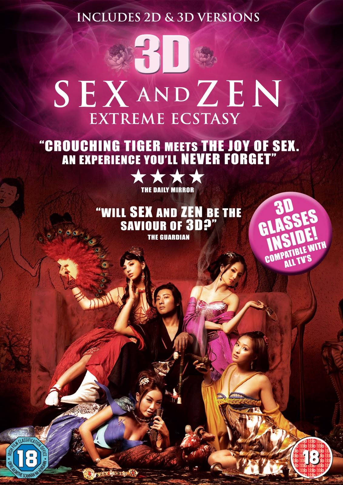 World's 1st 3D porn movie 'Sex and Zen' premieres