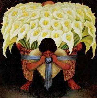 Campesinas Flores Diego Rivera