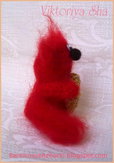 котик-амигуруми Тиша, связанный крючком