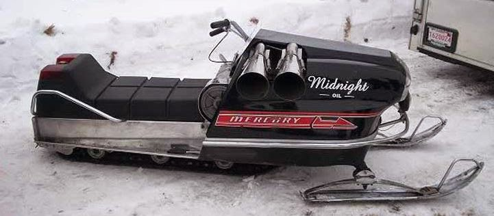 The Mercury Snowmobile page