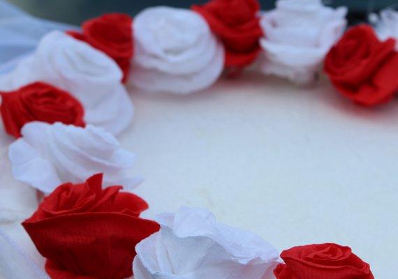 Blumen Aus Krepppapier Hochzeit