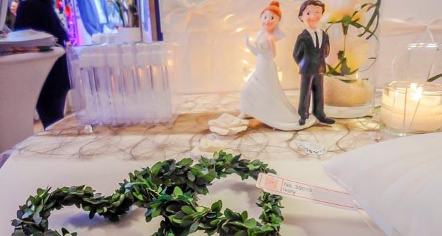 Besuch einer Hochzeitsmesse