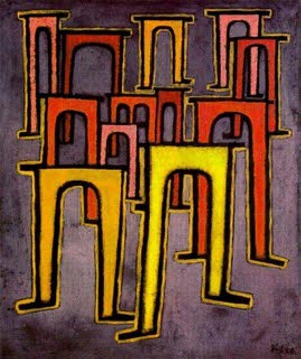 Paul Klee - Revolução do Viaduto foi uma declaração de guerra contra o nazismo