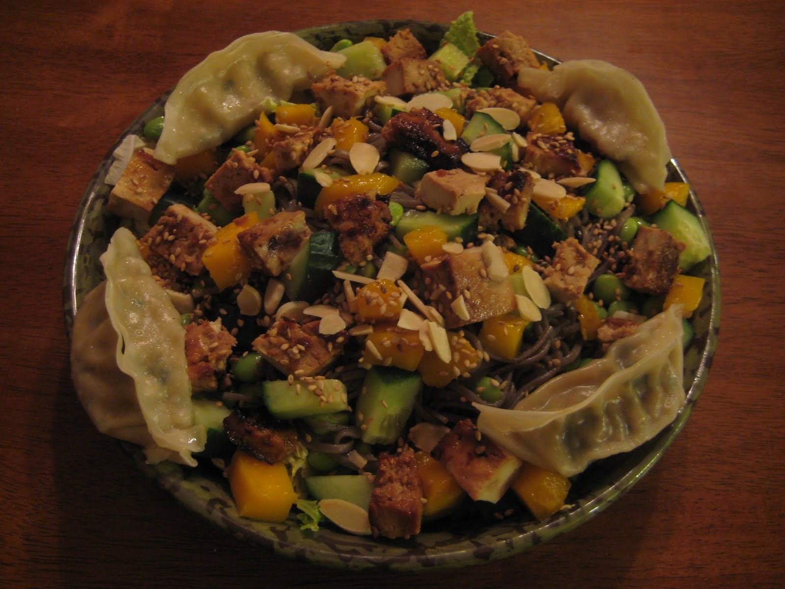 Life Beyond Lettuce: Cold Soba Noodle Salad with Baked ...