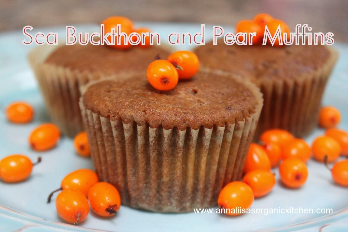 sea buckthorn berries muffins gluten free