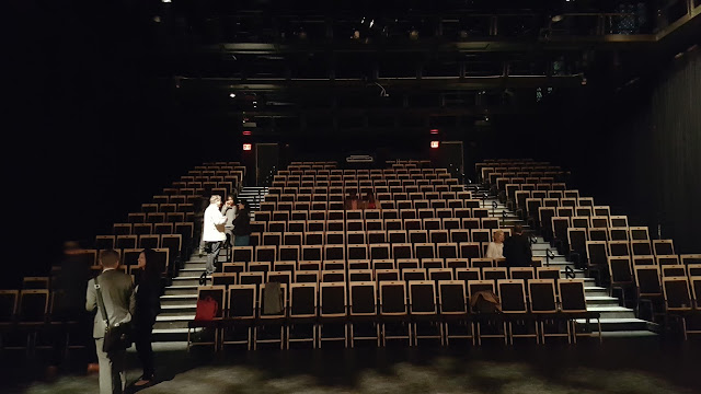 Seating in St. Ann's Warehouse Theater