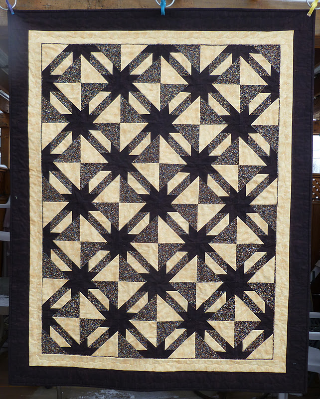 Sew Rip Sew Hunter Star Quilt Is Finished And Other Things