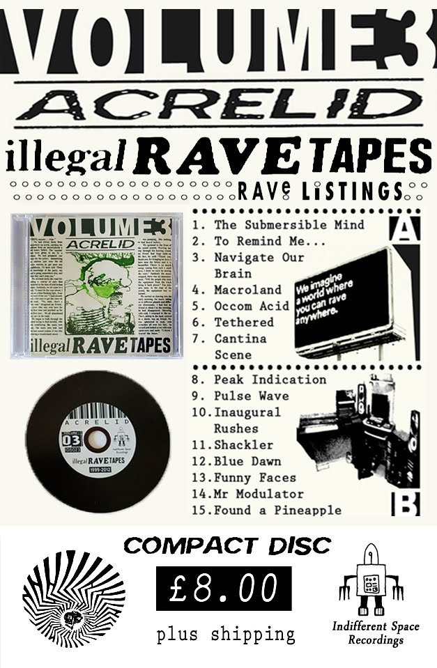 Acrelid - Illegal Rave Tapes - Volume 3 (CD)
