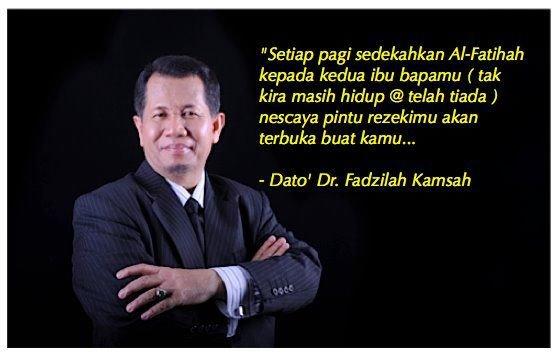 Kata-kata hikmah Dato' Dr. Fadzilah Kamsah