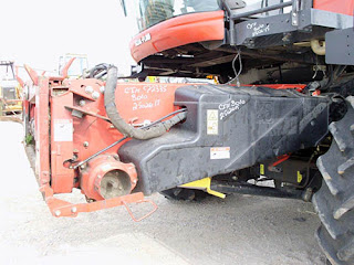 Case IH 8010 combine feeder house for sale