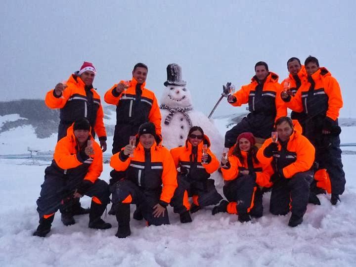 Navidad en la Antártida