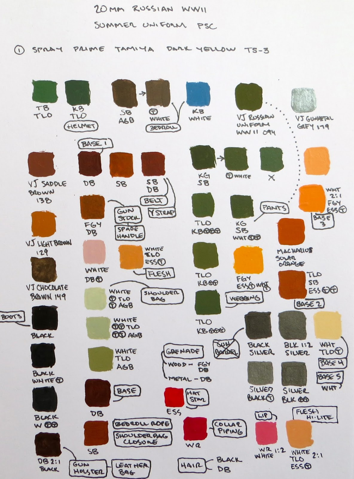 Co color painting games - Using Only 13 Pots Of Paint Keeps My Desk Tidy Allows More Money To Be Spent On Models And Also Allows Me To Learn About Color Mixing
