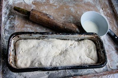 Ciasto przed pieczeniem