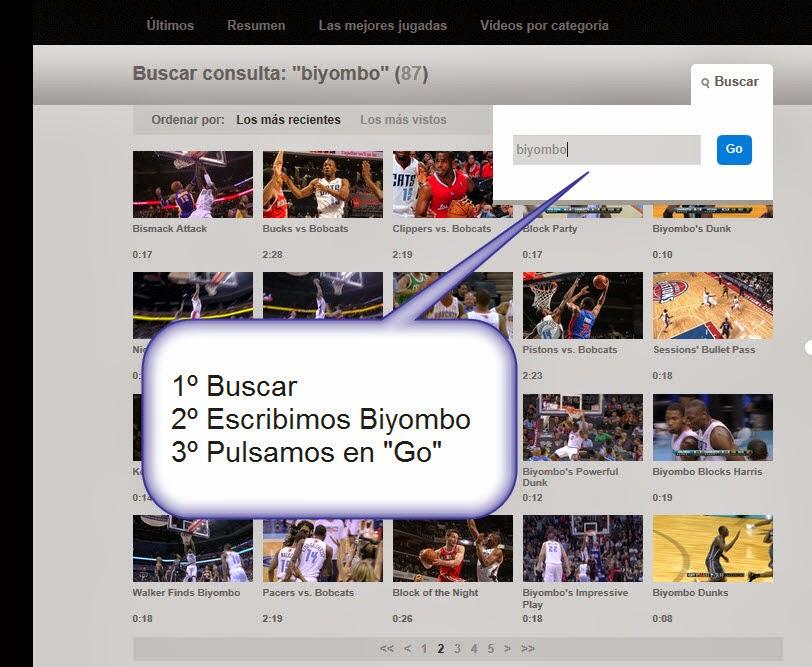 Videos Bismack NBA