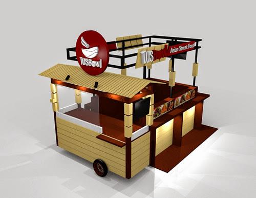 Tusbowl Booth Design