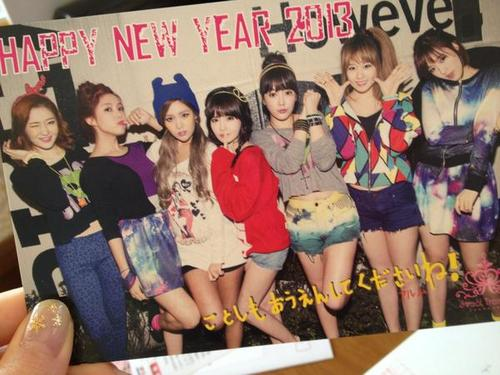 "T-ARA 2013 PHOTO ""HAPPY NEW YEAR"""