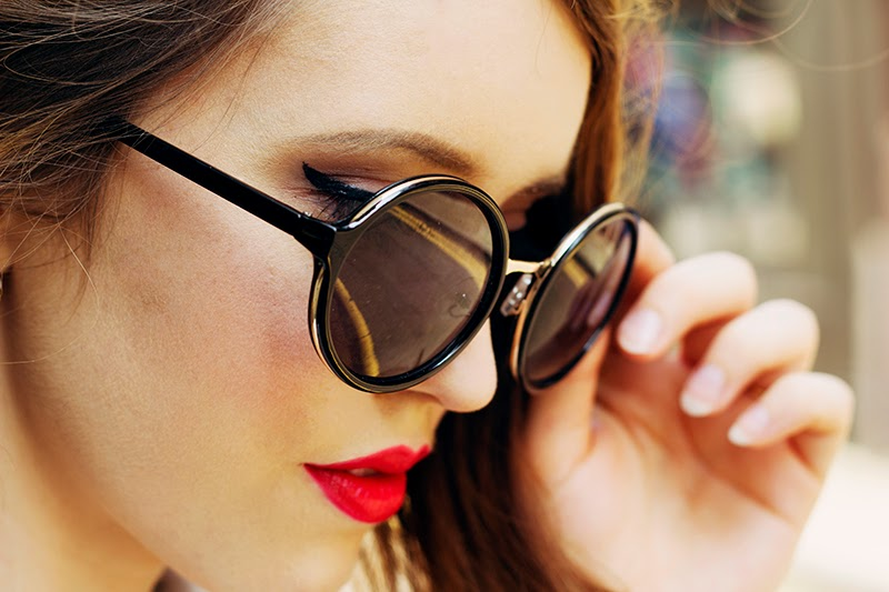 fashion blogger uk sunglasses