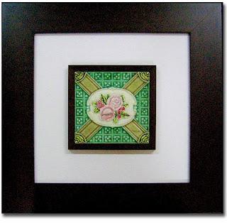 penang pre-war flower tile