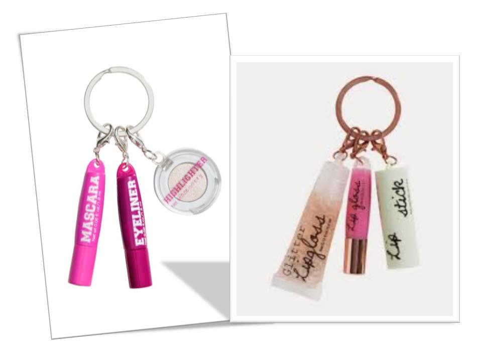 pinky blush blog quando gioielli portachiavi On h m portachiavi