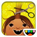 Toca Hair Salon Icon Logo