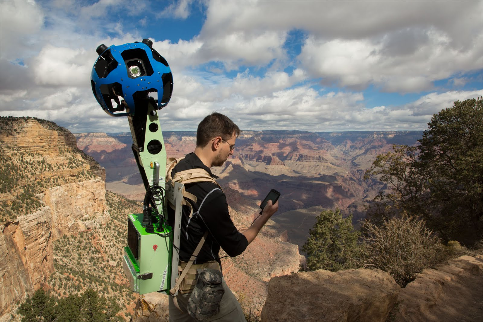 Grand Canyon trails beautifully captured with Trekker Googles