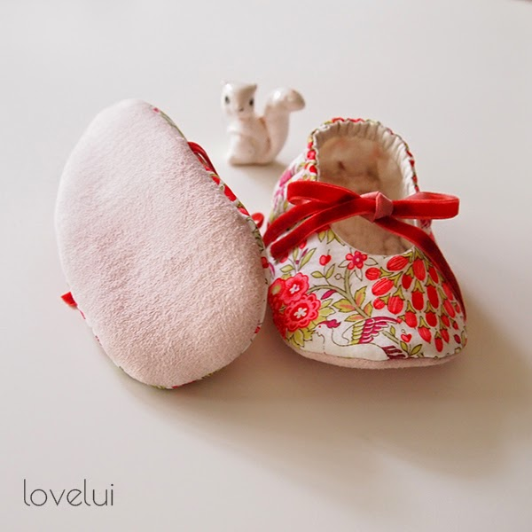 Liberty Fabricslippers lovelui