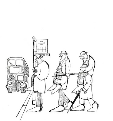 london transport bus cartoon
