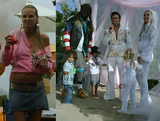 heidi klum and seal and family. hot Heidi Klum amp; Family Out
