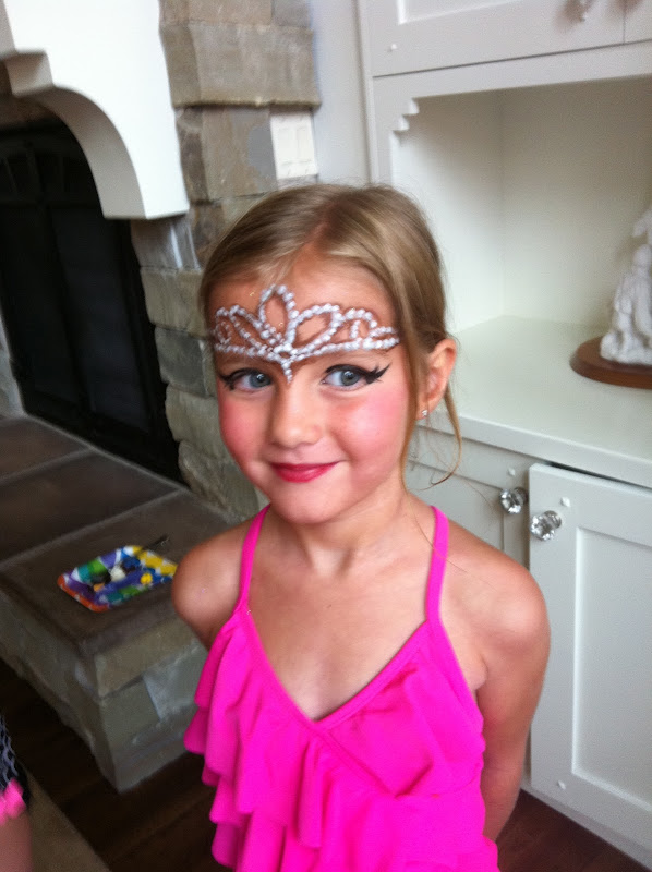Princess Parties - Face Painting Princess Crown title=