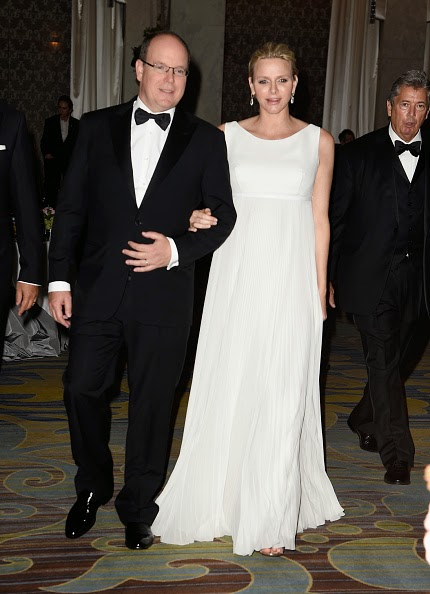 Her Serene Highness Princess Charlene of Monaco and Addyson Wink attends the 2014 Princess Grace Awards Gala at the Beverly Wilshire Four Seasons Hotel on 08.10.2014 in Beverly Hills, California.
