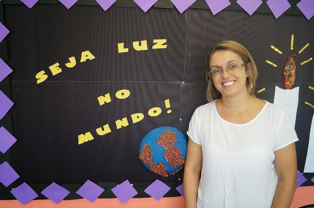 A Orientadora Pedagógica, Erika Cirico, ressalta outras preocupações além da beleza no ambiente escolar