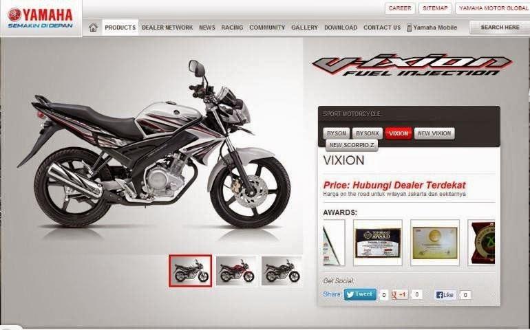 Kumpulan Foto Yamaha Vixion Terbaru