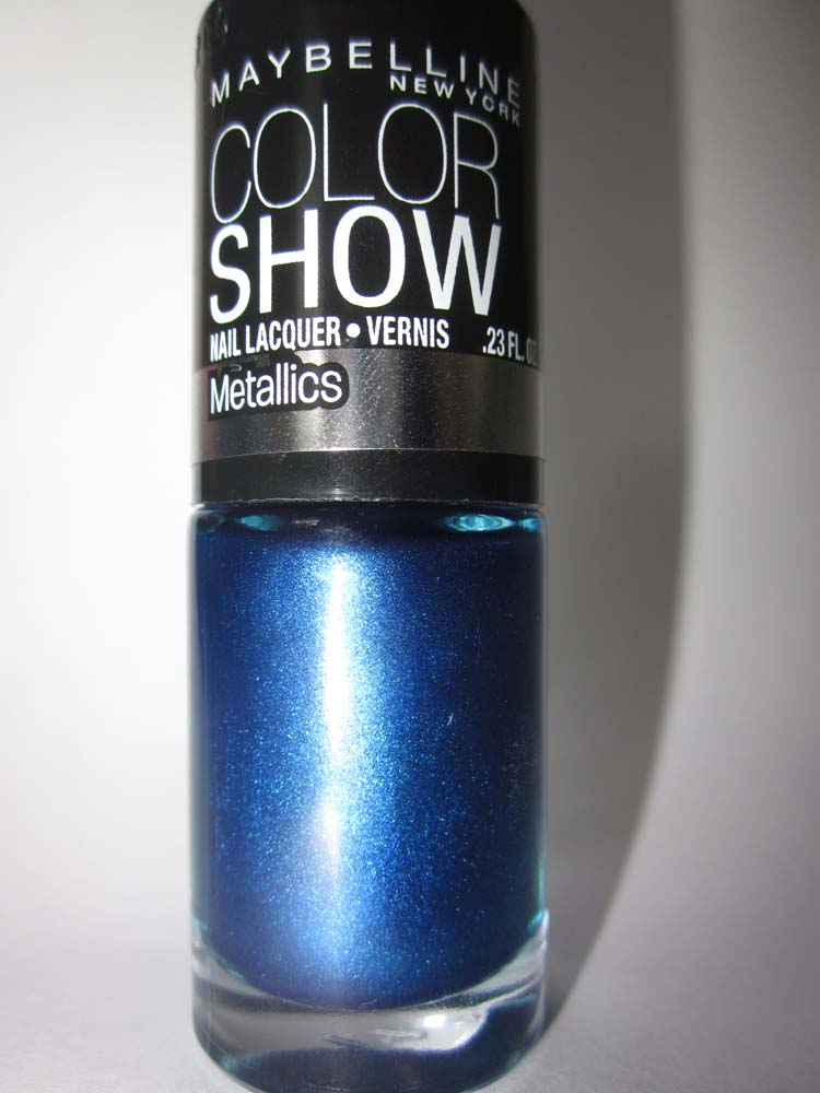 The Glitter Lizard: Maybelline Color Show Nail Polish Navy Narcissist