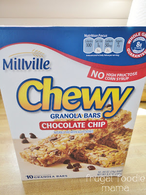 ... Chewy Chocolate Chip Granola Bars, $1.69 for 10 granola bars - 6