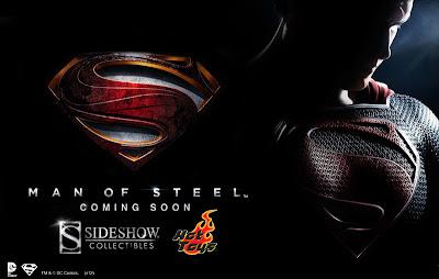 Hot Toys Man of Steel Superman figure promo