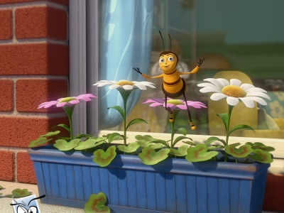 Bee Movie Jerry Seinfeld Dreamworks animatedfilmreviews.blogspot.com