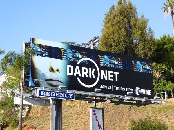 Dark Net series premiere billboard