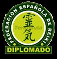 Maestra Federada y Terapeuta Diplomada en la Federación Española de Reiki