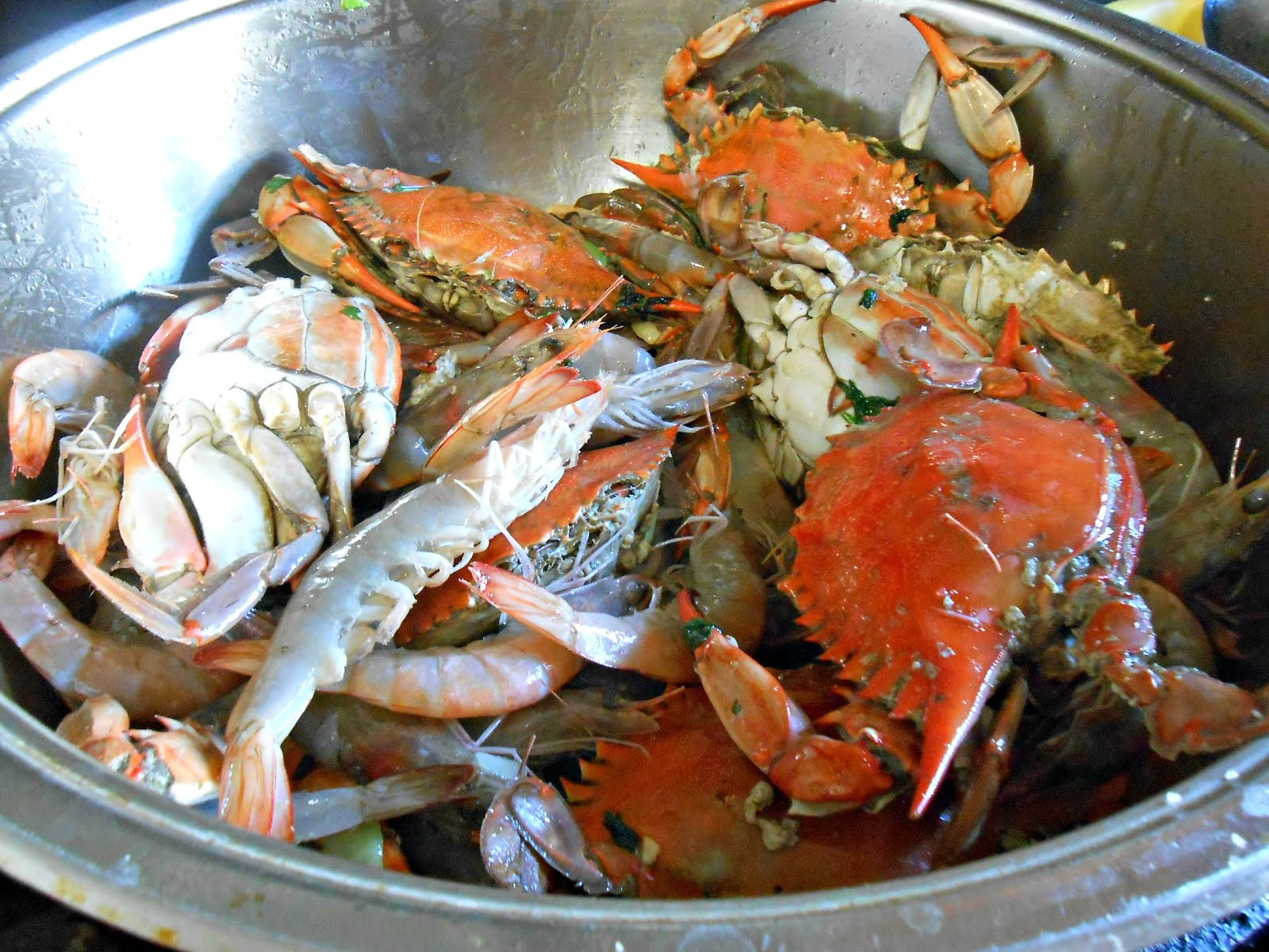 how to cook crabs filipino style