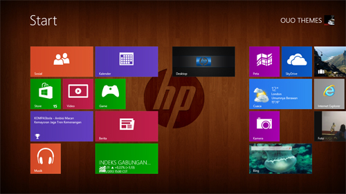 Hewlett Packard Theme For Windows 7 And 8