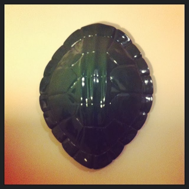 #thriftscorethursday Week 7 Features | Instagram user: djdrake47 shows off this her Nate Burgess turtle shell