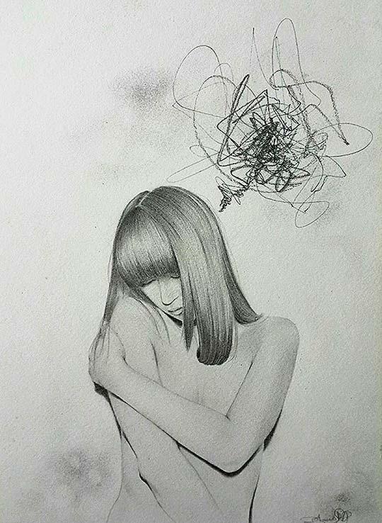 Ilustración de Dhaniela Romero