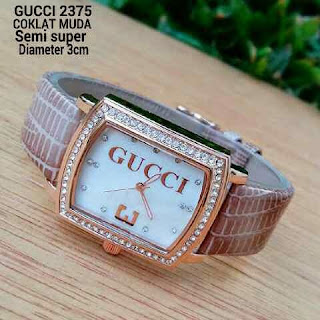 Gucci Three Leather Mocca