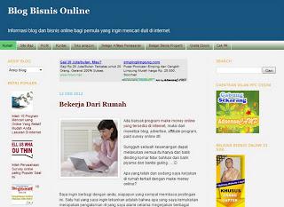 Blog Bisnis Online