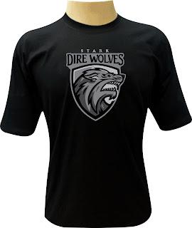 Camiseta Stark Direwolves