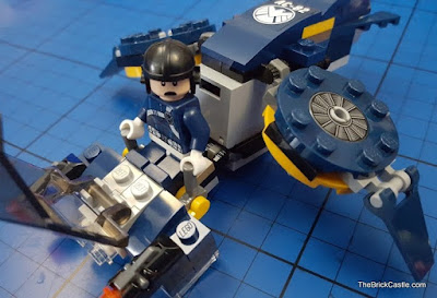 LEGO Marvel Superheroes SHIELD Jet Flyer and Agent 76036 review