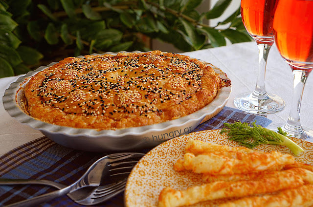 Fennel and Onion Pie