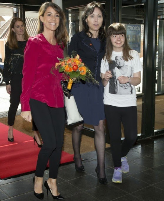 Princess Marie Attends The National Autism Conference In Odense