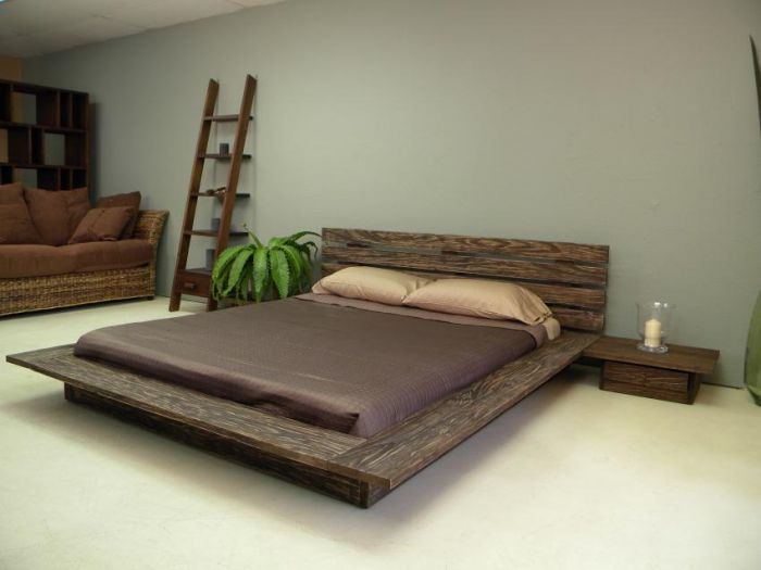 Platform Bed Decoration Wooden Beds Design Wooden Beds Design