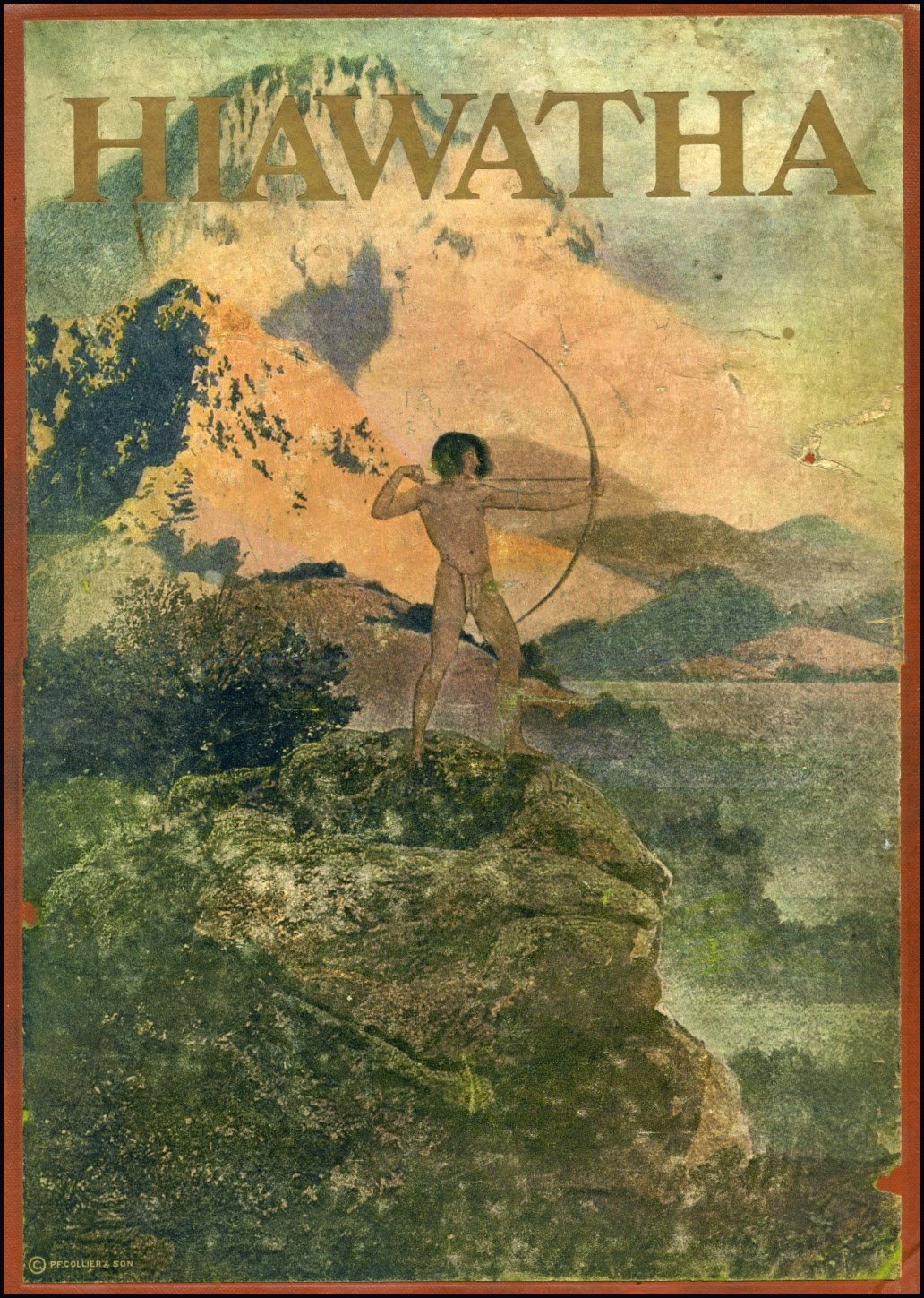 maxfield parrish n c wyeth and frederic remington the song of  maxfield parrish n c wyeth and frederic remington the song of hiawatha 1911